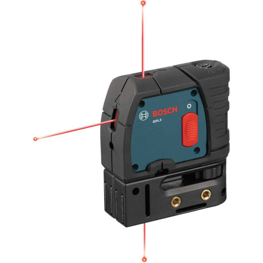 Bosch 100 Ft. Self-Leveling 3-Point Laser Level