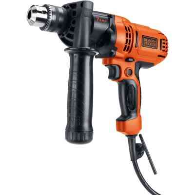 Black & Decker 1/2 In. 7-Amp Keyed Electric Drill/Driver