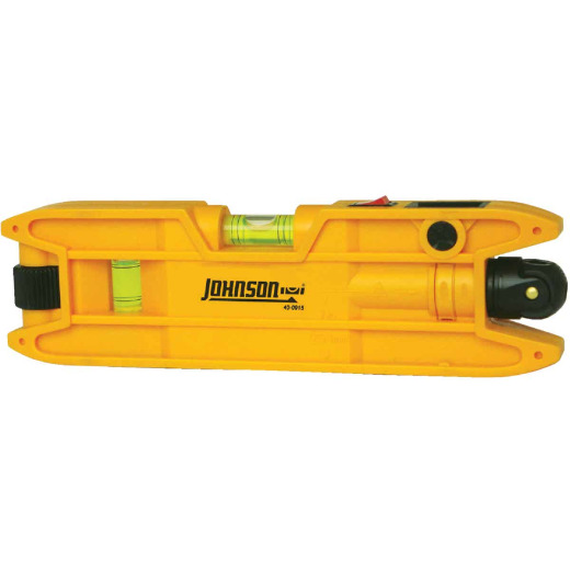 Johnson Level 100 Ft. Manual-Leveling Magnetic Torpedo Laser Level