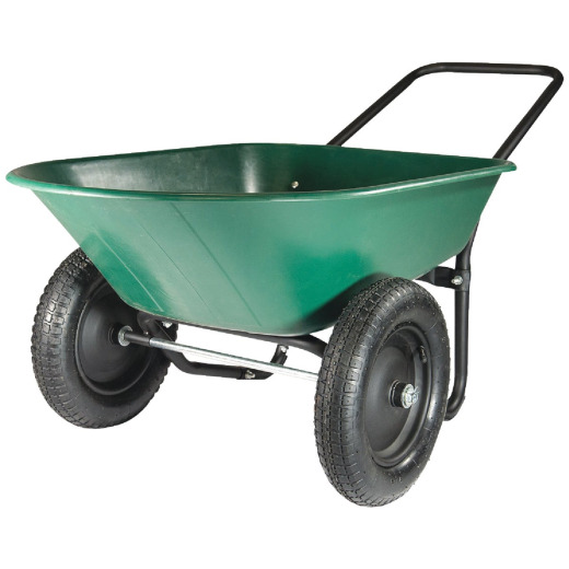 Marathon 5 Cu. Ft. Poly Wheelbarrow